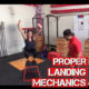 Proper Knee Landing Mechanics With Plyometrics