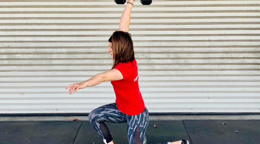 Why You Need To Work On Dumbbell Lunges For The CrossFit Open